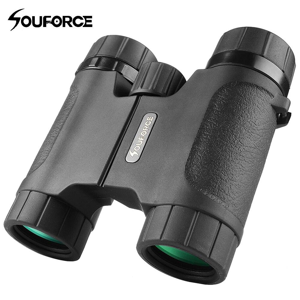 8X28 Mini Binoculars Waterproof Telescope Wide Field Angle for Outdoor Watching Hunting Camping