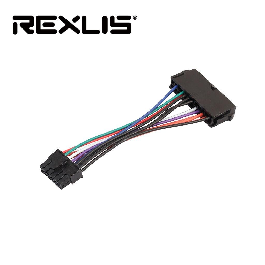 REXLIS venta 15 cm ATX 24 Pin a 12 Pin Cable de...