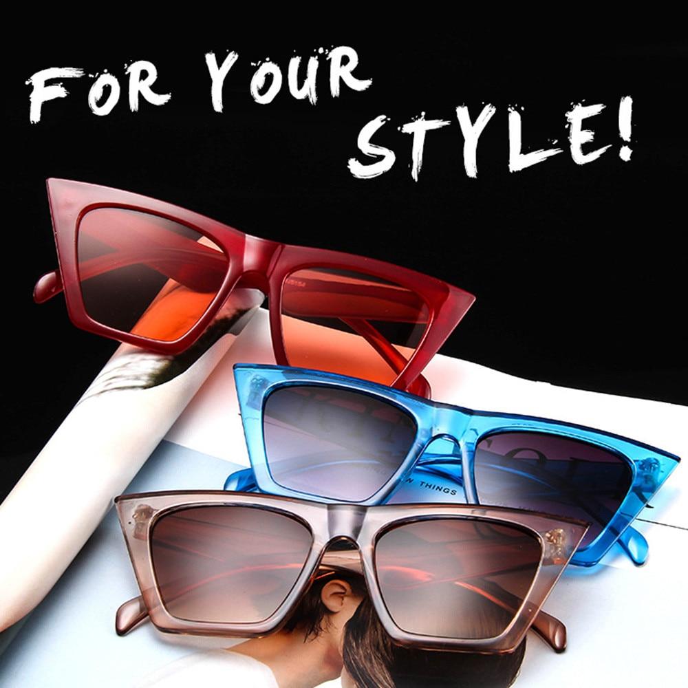 Gafas de deporte para mujer gafas de sol de gran tamaño Vintage Retro gafas de sol tipo ojo de gato gafas de conductor