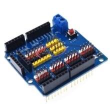 V5 센서 쉴드 확장 보드 쉴드 arduino uno r3 v5.0 전자 모듈 센서 실드 v5 확장 보드 1 개