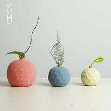 Jingdezhen – petit Vase en céramique pour salon, Arrangement créatif, articles à base de grenade, Vase de Table Simple pour décoration de la maison, nouveaux produits