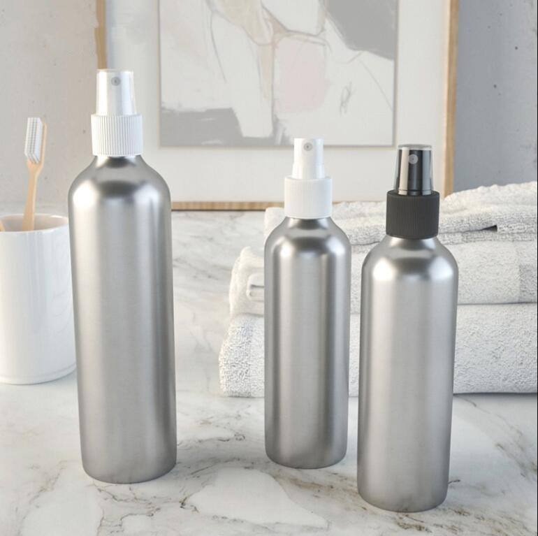 10 قطعة 100 مللي صغيرة القصدير الألومنيوم زجاجات مصنع رذاذ عطر تخزين الحاويات شحن مجاني المرذاذ الاعشاب E السائل جرة