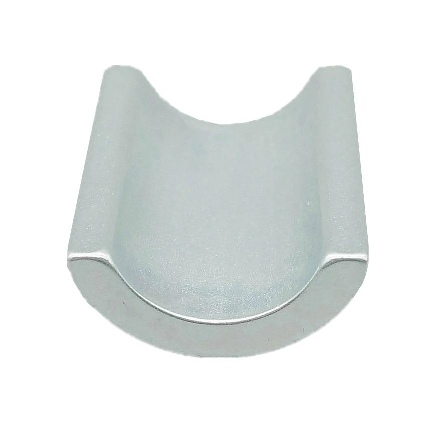 4pcs NdFeB Arc Segment R11.75xr8.05xL31.4xW22.5xH9xT3.7 mm Large Water Pipe Filter Strong Neodymium Water Soften Magnets
