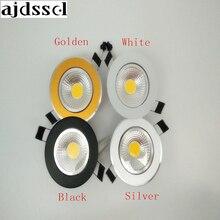 LED Ronde Downlight Dimbare Led downlight COB Plafond Spot Light 3w 5w 7w 9w 12w LED plafond inbouw Binnenverlichting