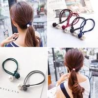 lnrrabc 1pc new hot sale 7colors korean olivet ponytail women girls brief fashion elastic hair bands