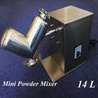 Mini Powder Mixing Machine 14L Pony Type Vertical Mixer Small Raw Material Mixer Dry Powder Blender VH-14