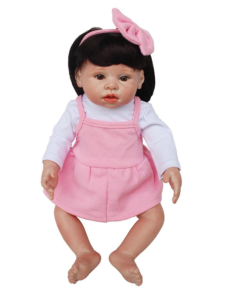 "17""43cm bebe alive real looking reborn babies bonecas boy/girl dolls kids lovely birthday gift super educational toy"