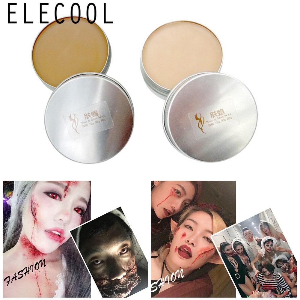 Pintura facial de halloween, efeitos especiais de maquiagem para a pele, do palco, do halloween, para festas, maquiagem
