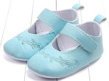 Zapatos de bebé recién nacido para niñas Negro PU Zapatos Infantiles precaminantes niñas cuna zapatos antideslizantes formal bordado de flores suela suave