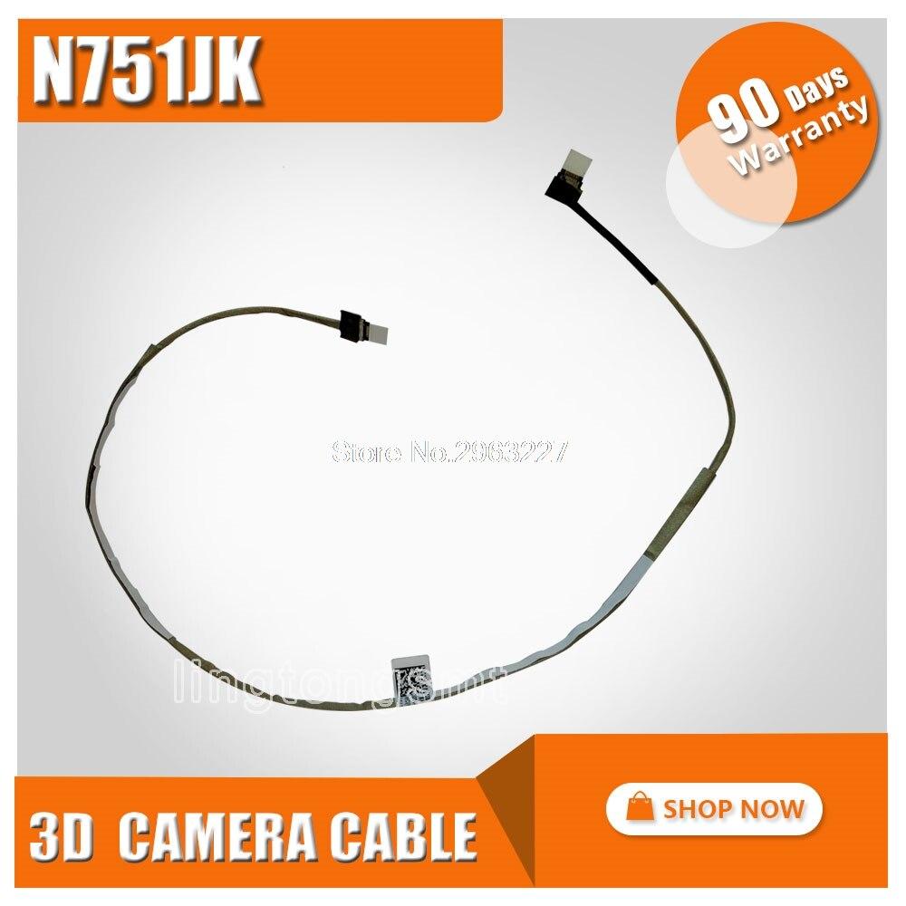 Original para For Asus N751 N751J N751JX N751JK 3D CABLE de la cámara