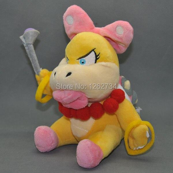 """¿Super Mario Bros 7 """"Wendi Wendy? Peluche de Koopa muñeco figura de juguete venta al por menor"""