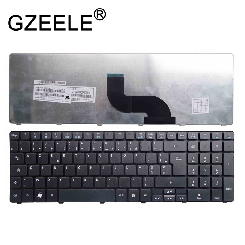 Французская клавиатура GZEELE для Acer Aspire 5236G 5410t 5242 5242G 5538 5538G 5539 5542 8935g 8935g FR AZERTY repalce