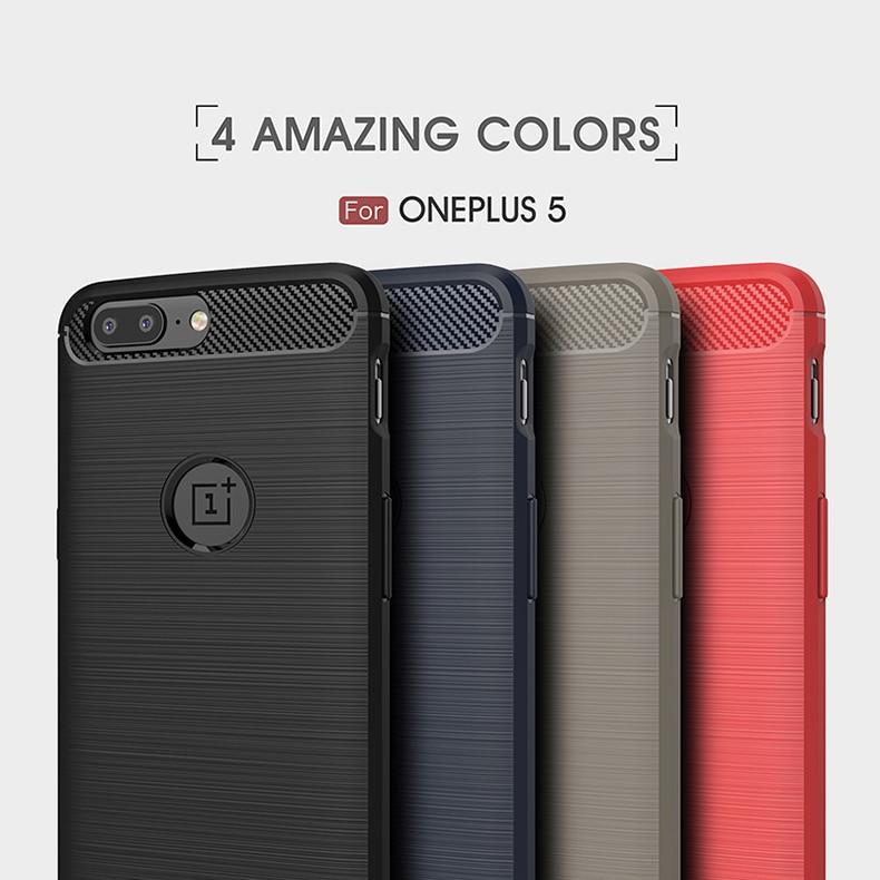 Oneplus 5T caso TPU suave híbrido cubierta de silicona para Oneplus 6 T caso a prueba de golpes para OnePlus 7T Armor phone case para Oneplus 8 Pro