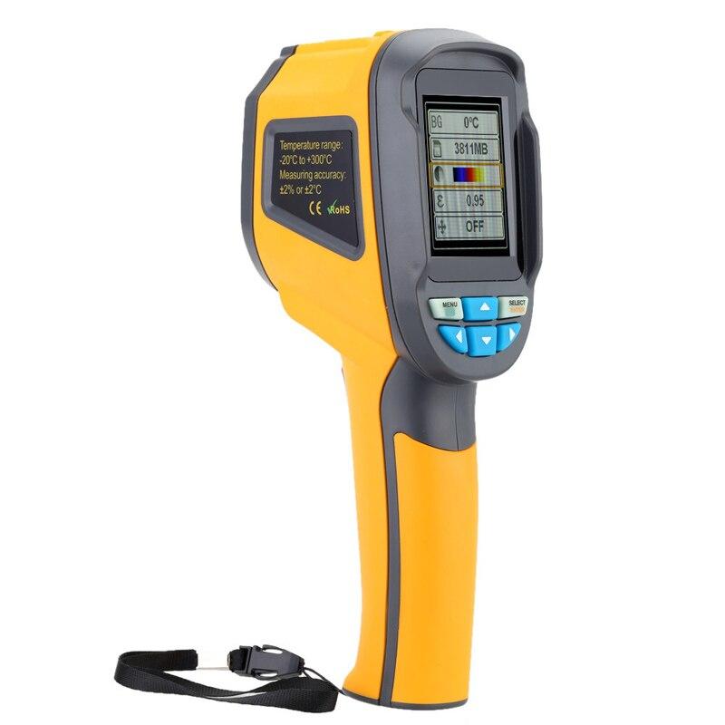 Handheld Thermograph Kamera Infrarot Thermische Kamera Digital Infrarot Imager Temperatur Tester mit 2,4 zoll Farbe LCD Display