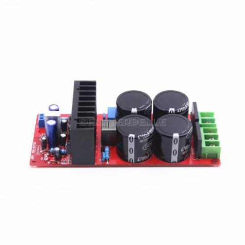 Montaje IRS2092 Clase D placa amplificadora de potencia 350W Mono HiFi placa amplificadora de potencia