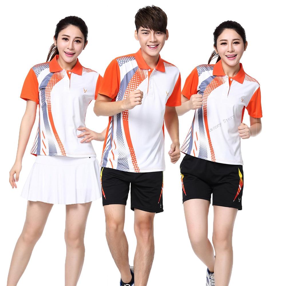 Adsmoney Men/Women tenis sport t-shirt+shorts suit,Men tenis masculino jerseys,badminton train shirt,table tennis shirt skirt