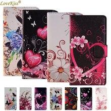 Bloem Lederen Portemonnee Telefoon Tas Voor Lenovo Vibe K5 Plus K6 Power A2010 A2580 S90 K3 K4 Note A6000 A7000 a5000 Case Cover Cases