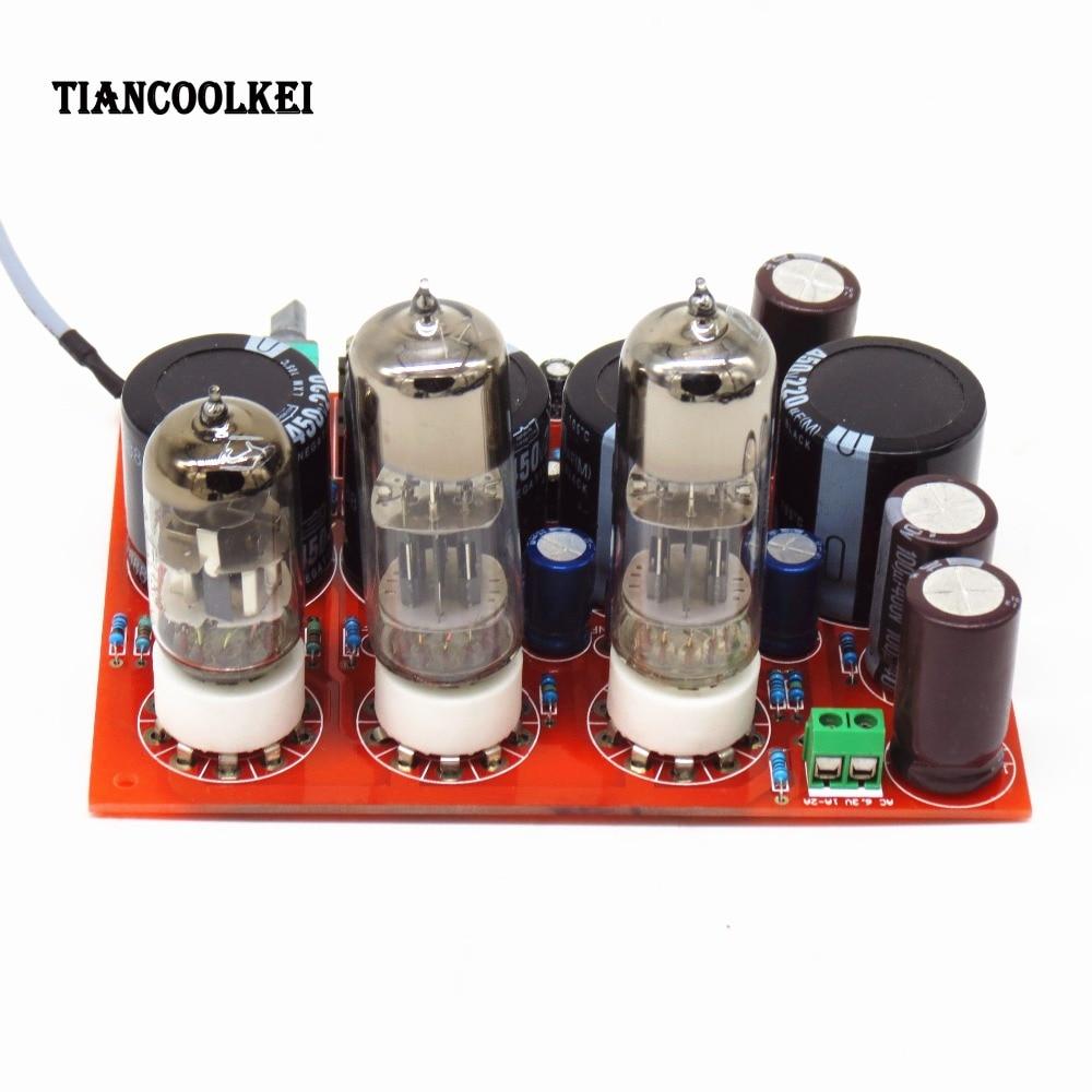 Amp earphone amplifier T4 biliary WFC pure bile ear tube headphone amplifier /power amplifier board +Transformer enlarge