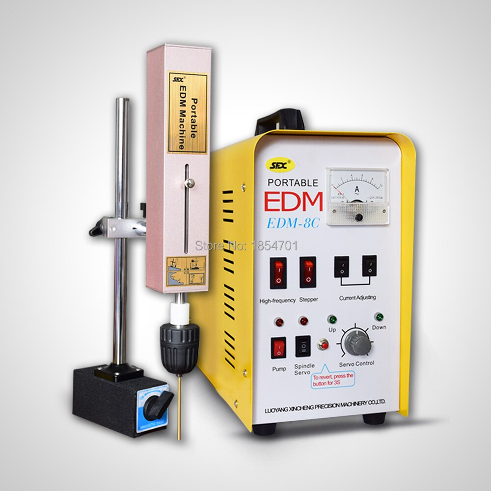 Máquina de EDM portátil de alambre de latón mecanizable