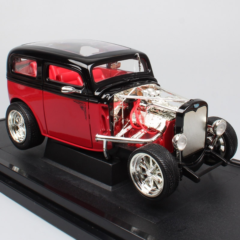road signature vintage 1968 ford shelby mustang gt 500kr muscle race diecast 1 18 scale metal model cars 1:18 Scale Road Signature Ford Model A the A-bone 1931 rodders Tudor custom Sedan diecast & vehicles models cars toys for boys