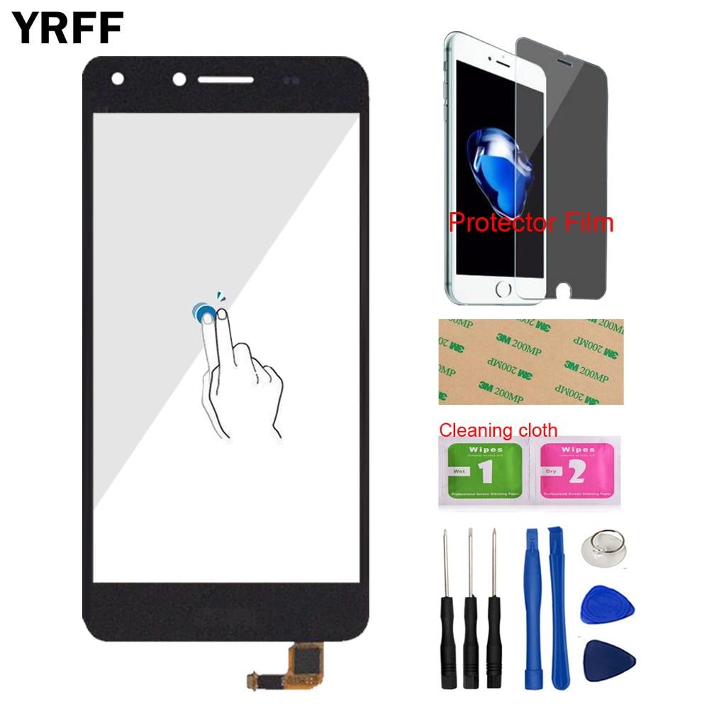5'' Touch Screen For Huawei Y5 II 2 Y5II CUN-L01 LYO-L21 Touch Screen Glass Digitizer Panel Sensor Protector Film