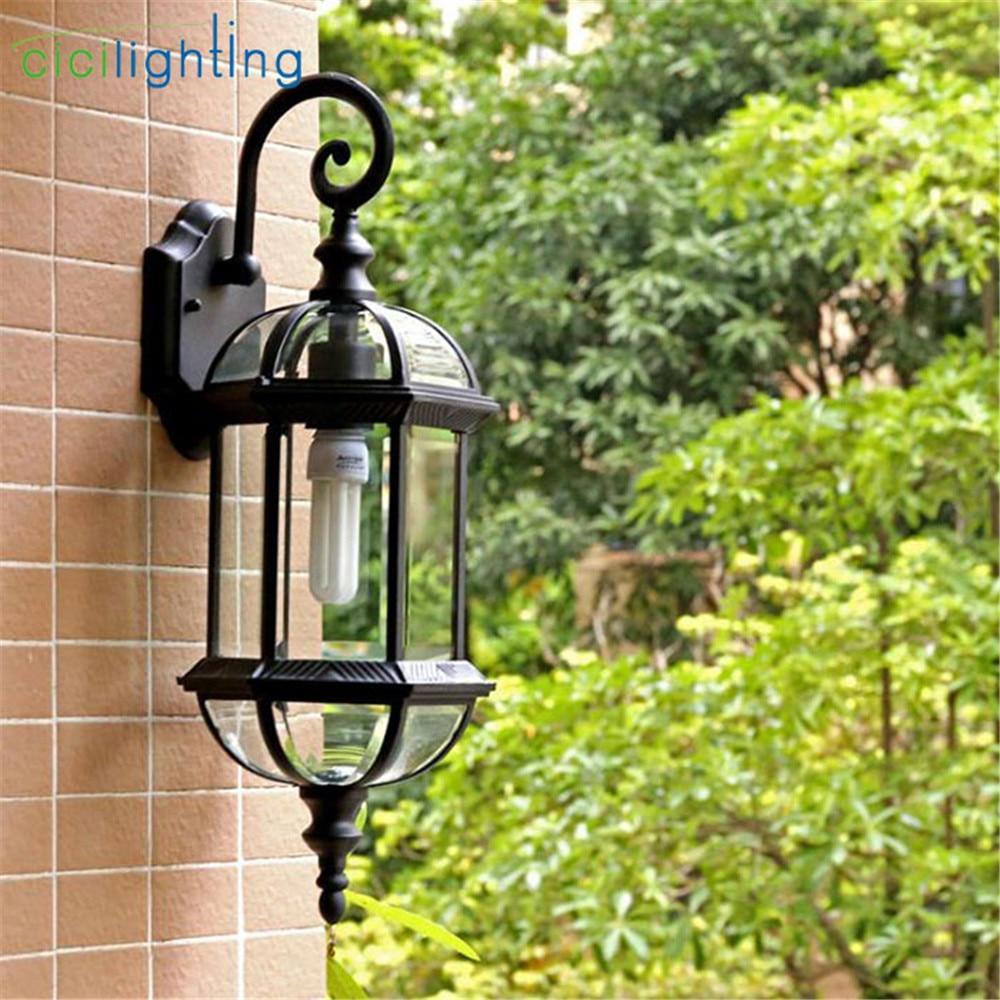 Outdoor Wall Light,Waterproof Front Door Porch Wall Lamp,Home Sconce Indoor Decoration Lighting Lamp Yard Garden Fitting enlarge