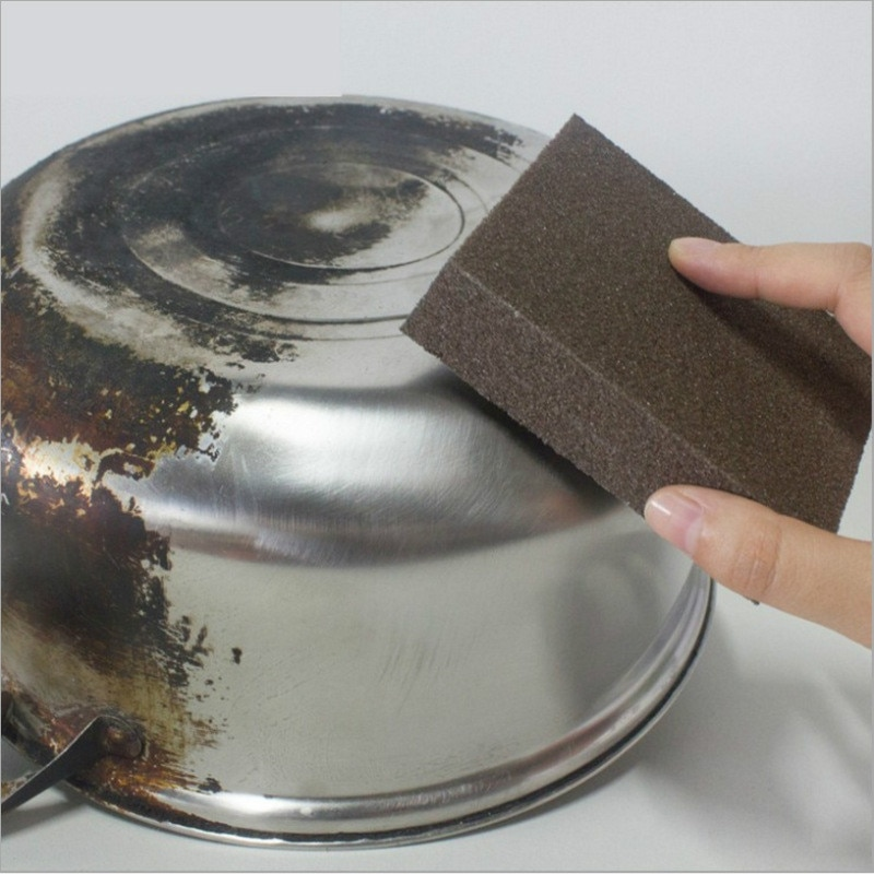 1/12PCS Sponge  Magic Eraser for Removing Rust Cleaning Cotton Kitchen Gadgets Accessories Descaling Clean Rub Pot Kitchen Tools недорого