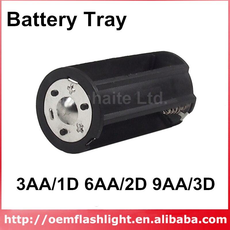 3AA/1D 6AA/2D 9AA/3D batería bandeja