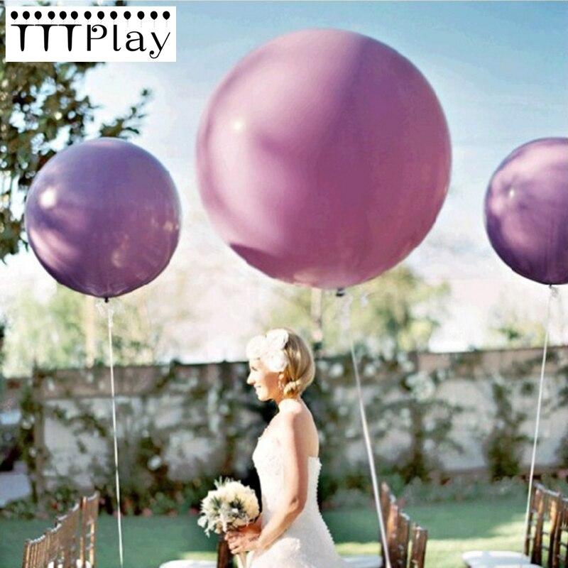 Tiffany Wedding Balloon 36 Inch Giant Balloon Helium Inflatable Latex Big Balloon For Birthday Party Decoration Balloon Supplies