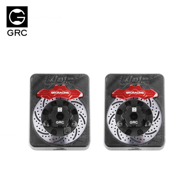 Udr roda de alumínio hex hub disco de freio + pinça para 1/7 traxxas udr atualizar peças