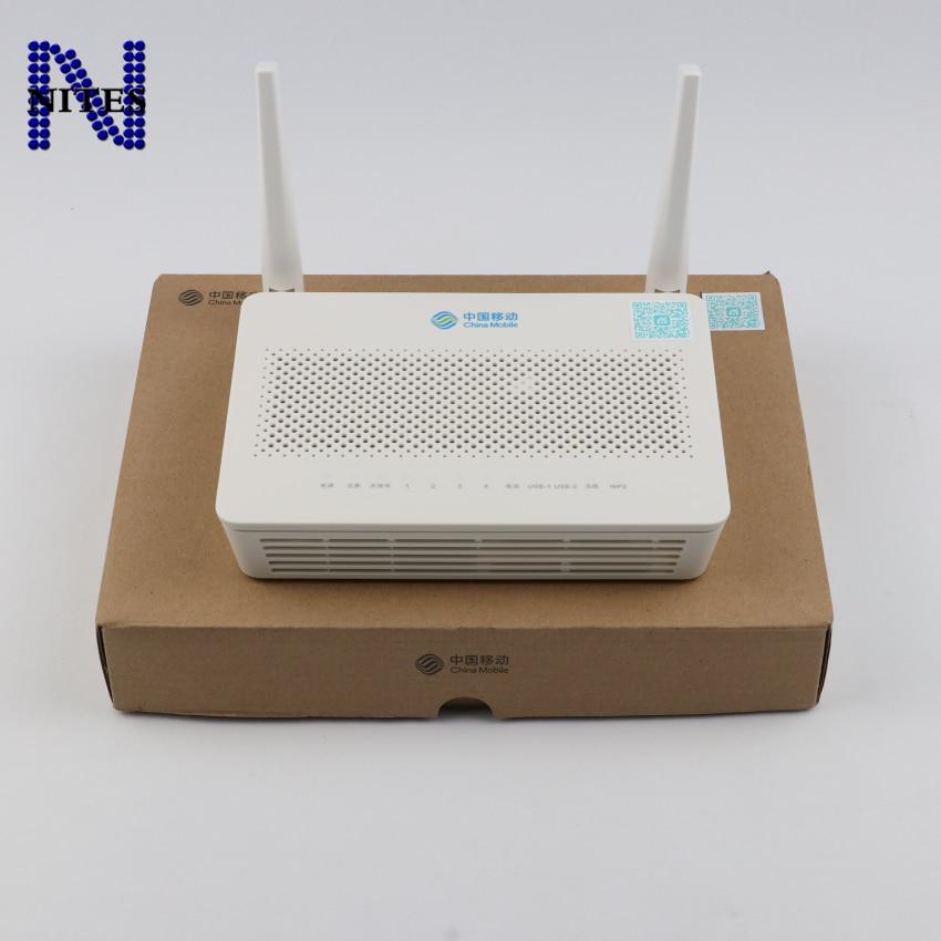 Original Neue Hua wwei GPON ONU HS8546V5 4GE + 1Tel + 1USB + 2WIF, 2,4 GHz & 5GHz Gleiche Funktion wie HS8546V2 HG8245U HG8245Q2 GPON ONU ONT