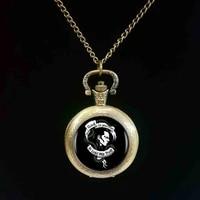 1pcslot 2017 fashion loki god of mischief logo pocket watch art handmade resin black chain pocket watch women jewelry