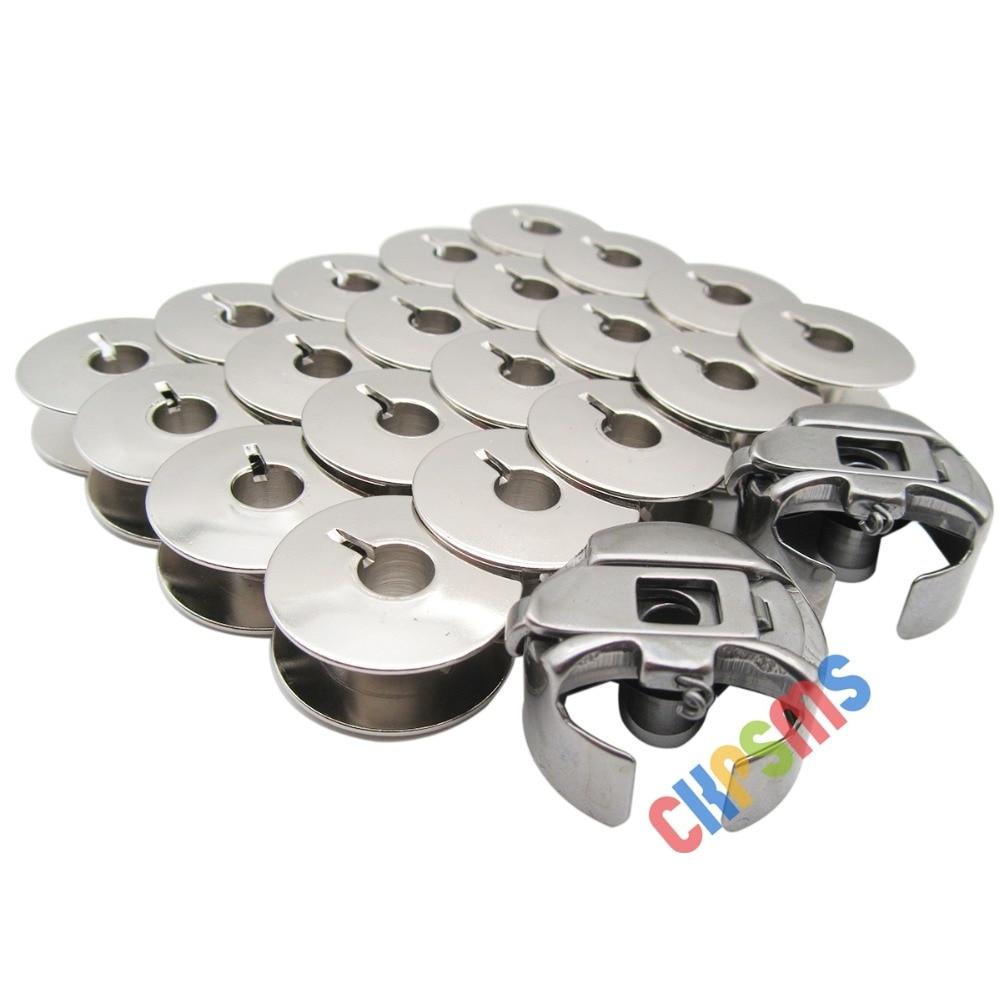 20 Uds 55623S + 2 uds BC-DBZ(3)-NBL6 bobinas metálicas y bobina para hermano PR máquina de bordado PR650 PR655 PR1000 PR1050X