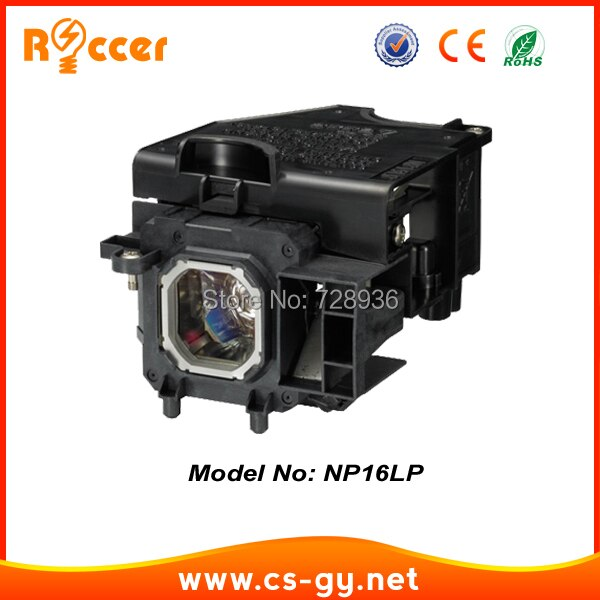 Reemplazo Compatible Proyector Bulbos de Lámpara NP16LP para NEC M260WS/M300W/M300XS/M350X/M350/M350XG