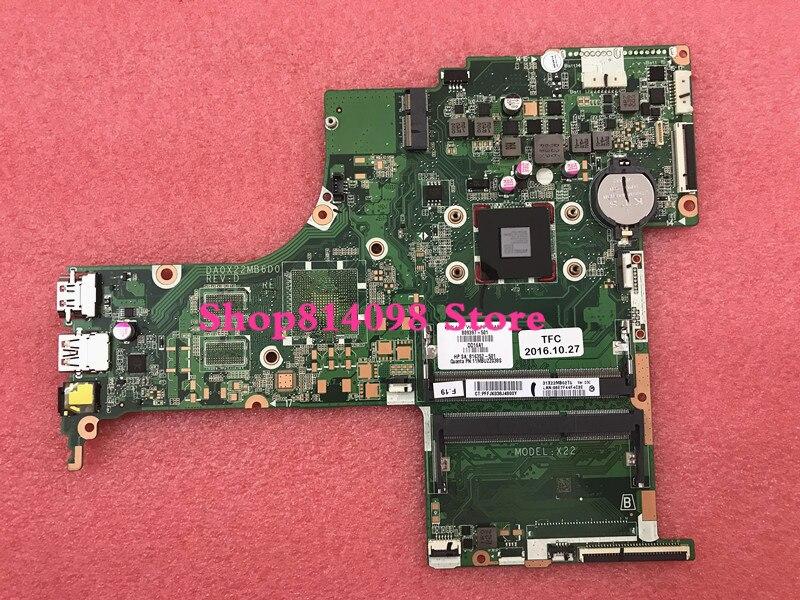 809397-001 809397-501 809397-601 DA0X22MB6D0 X22 para HP pavIiion notebook 17-G Placa base con A4-6210 CPU. ¡Todos completamente probados!
