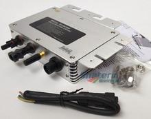 300W Grid Tie Micro Solar Power Inverter WVC300 With WIFI Communication,MPPT pure sine wave 22-50V DC to AC120V or 230V AC