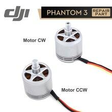 DJI Phantom 3 Motor 2312A CW/CCW için Phantom3 orijinal aksesuarları tamir parçaları 1 adet
