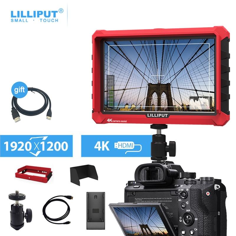 مراقب كاميرا 7 بوصة ليليبوت A7s يوترا سليم IPS شاشة 1920*1200 4K HDMI كامل HD 7