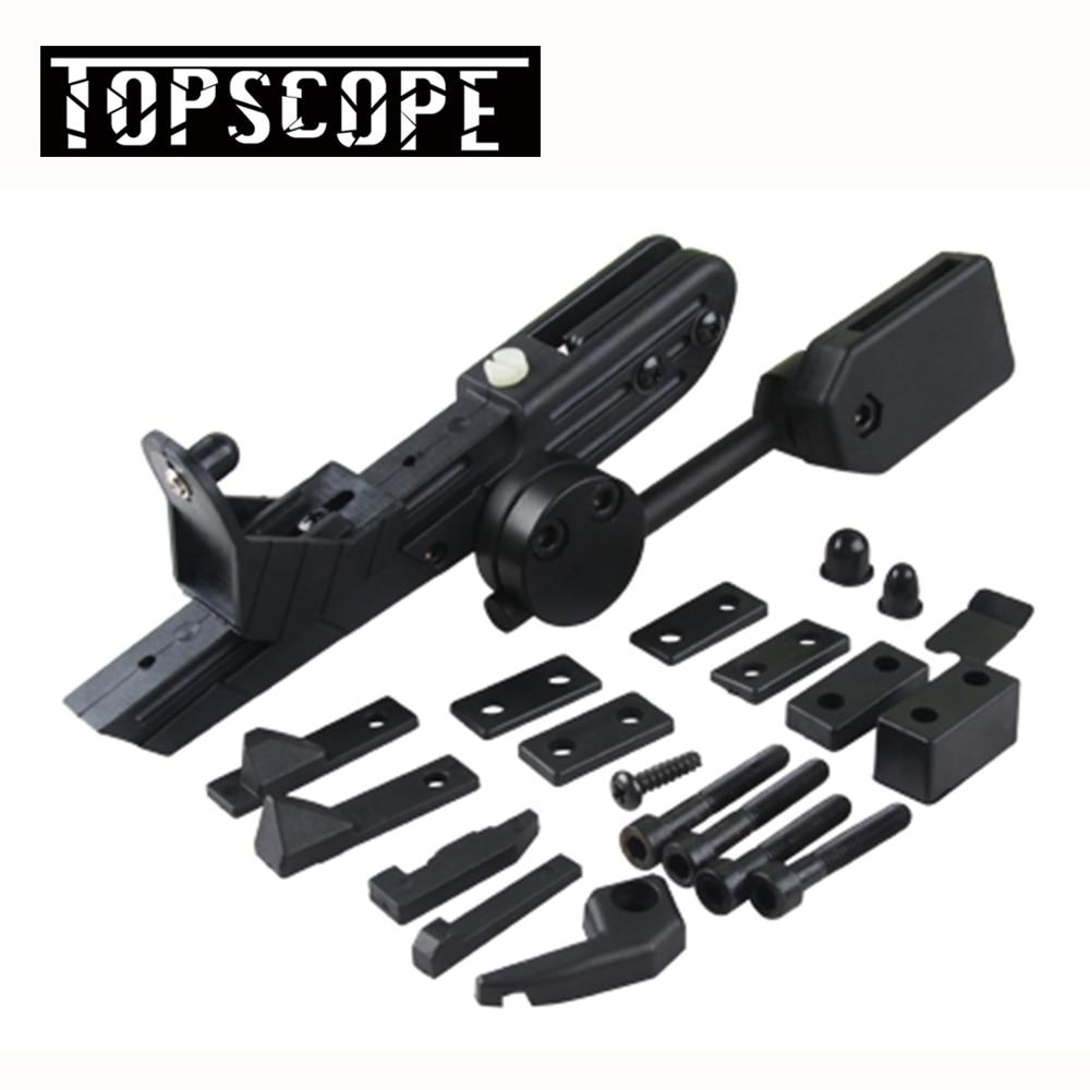 Pistolera táctica de montaje de pistola IPSC Universal cr-speed pistolera para Rifle pistola para mano derecha