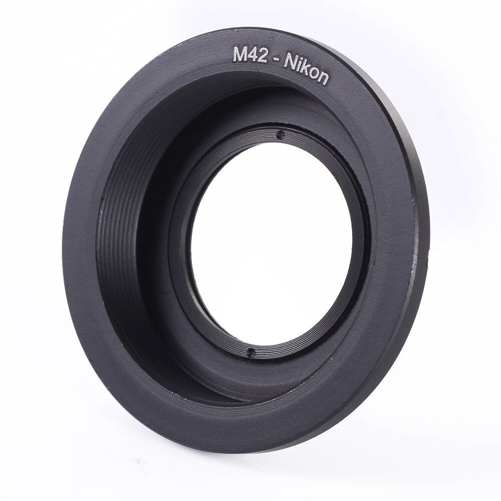 M42 Schroef Lens Model F Mount Camera Adapter Ring Met Glas Focus Te D810 D750 D7200 D3300 D5500 D3200 Camera body Adapter