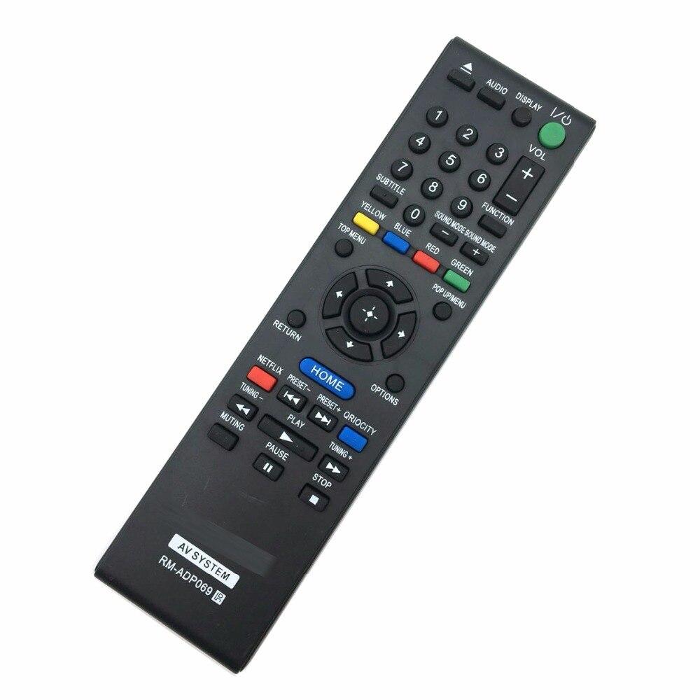 Nova substituição sony av sistema de controle remoto RM-ADP069 para HBD-E580 BDV-N790W HB-DE3100 RM-ADP072 bdve490 BDV-E490