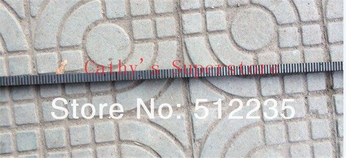 ترس رف CNC 3 ، 30x30x1000 مللي متر ، ترس سبير فولاذي #45