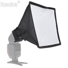 Diffuseur Flash pliable de haute qualité 20*30cm pour Canon Nikon Sony Minolta pour Pentax pour appareil photo Nissin Yongnuo