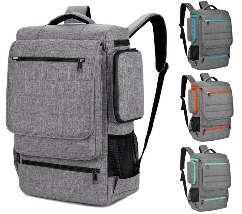 Mochila GRANDE de Nylon de 15,6 pulgadas SOCKO para ordenador portátil, mochila, bolsa, bolsa de mensajero, mochila escolar para hombres y mujeres