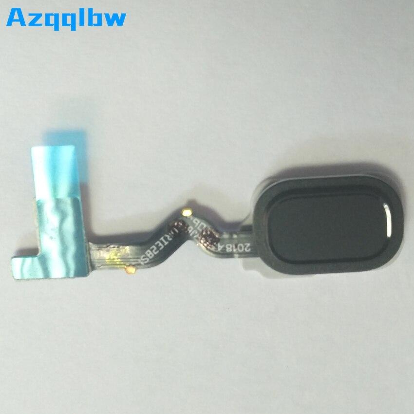 Azqqlbw 1 piezas para Samsung Galaxy J6 2018 J600 huella digital impresión de dedo de Sensor teclado botón de inicio