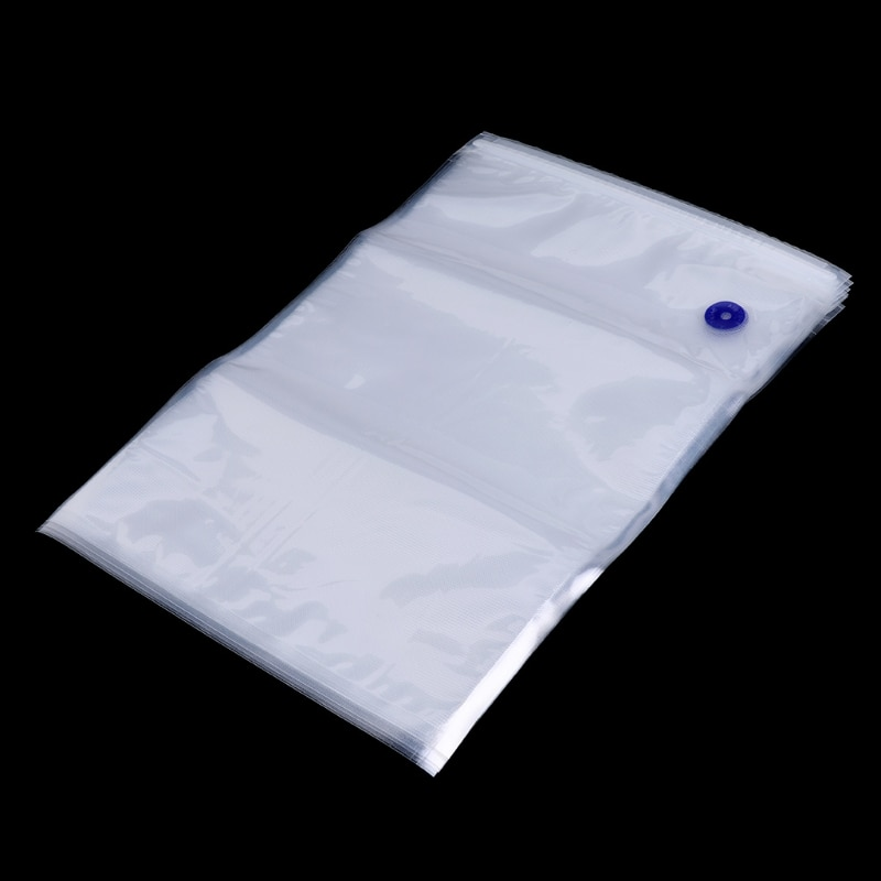 5pcs Lot Reusable PE Vacuum Bag Food Storage Bags Fresh-keeping 26x40CM U1JE недорого