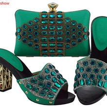 doershow Shoes and Bag Sets for Women Italian Shoes with Matching Bags for Women African Shoes and B