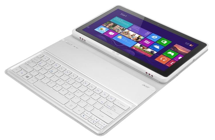 حافظة لوحة مفاتيح بلوتوث لاسلكية أصلية لجهاز Acer Iconia W700 ، مع لوحة مفاتيح أوروبية