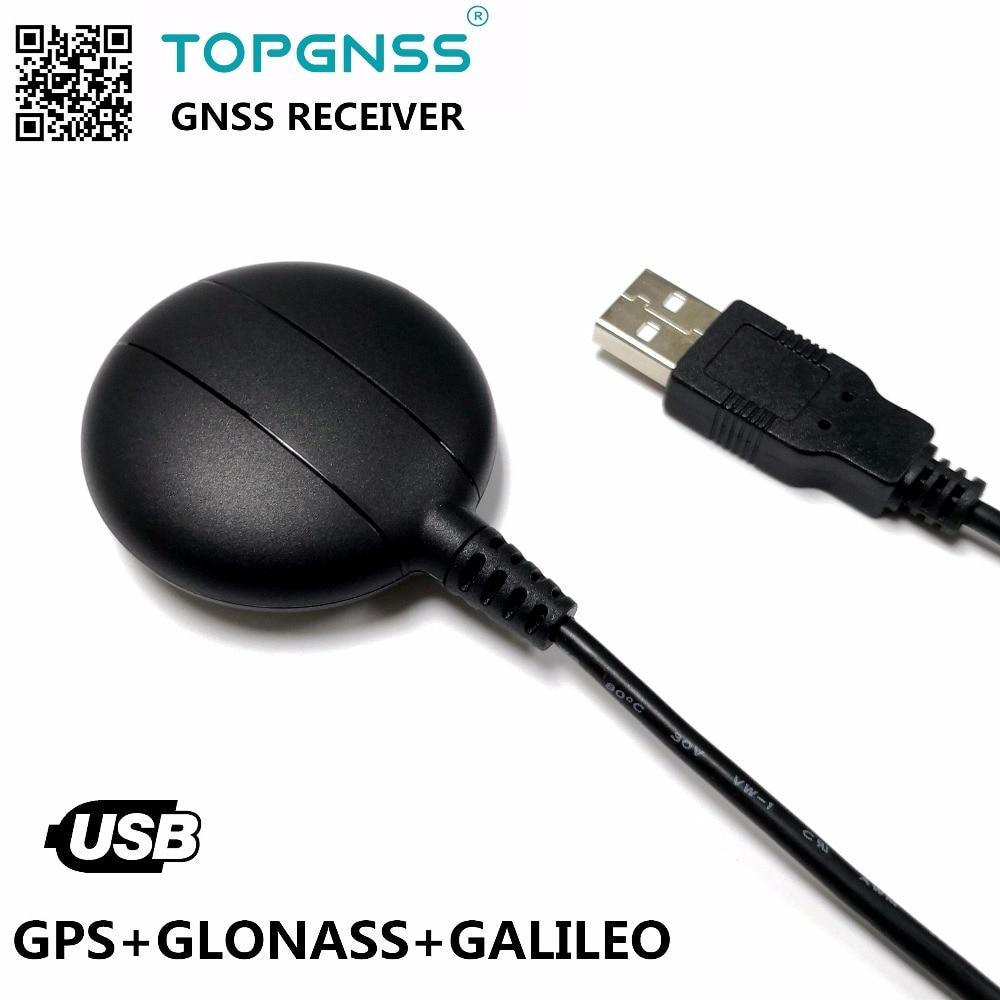 تطبيق الصناعي USB GPS جلوناس غاليليو وحدة الاستقبال هوائي GNSS200L USB GNSS GPS جلوناس غاليليو استقبال