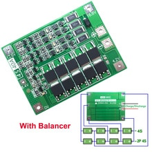 2 stks 4 s 40A Li-Ion Lithium Batterij 18650 Charger PCB BMS Bescherming Evenwichtige Raad Voor Boor Motor 14.8 v 16.8 v Lipo Mobiele Module